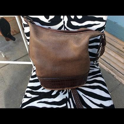 Brighton tan Leather Purse