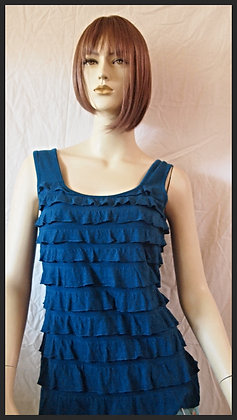 Blue top by Cubism size small