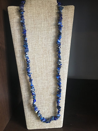 dark blue puka shell necklace