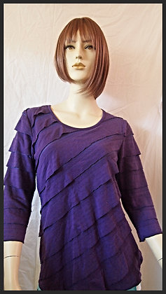 Purple top by Cubism size small