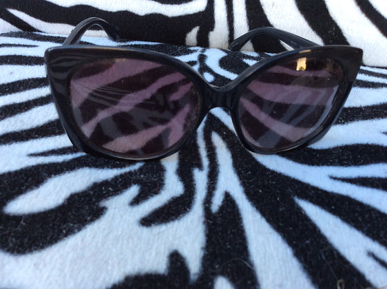 Marc by Marc Jacobs Black Sun Glasses, with decal