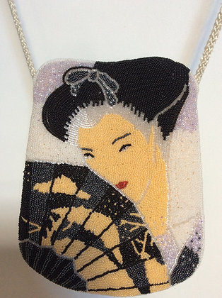 beautiful beaded purse