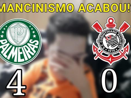 Palmeiras, um time piedoso! 4 x 0 foi pouco...