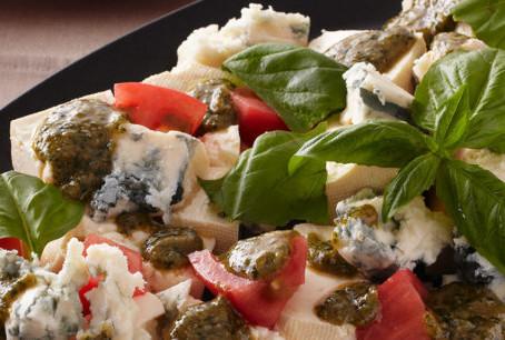 """Tofu """"Caprese"""" Salad with Marukome Miso"""