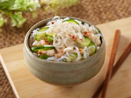 Sunomono Shirataki Salad Recipe by House Foods