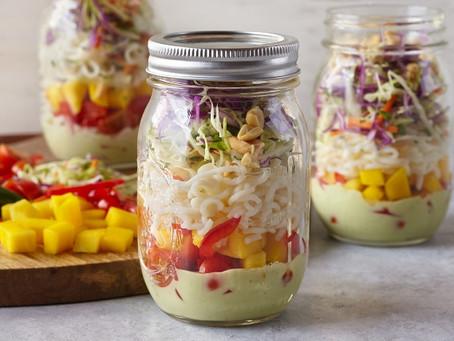 Avocado Ranch Tofu Shirataki Salad with House Foods