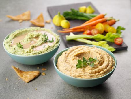 Roasted Sesame Edamame Hummus By Kewpie