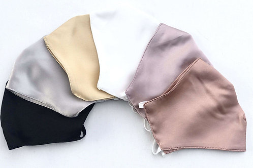 Silk Single Layer Face Mask - Value Series