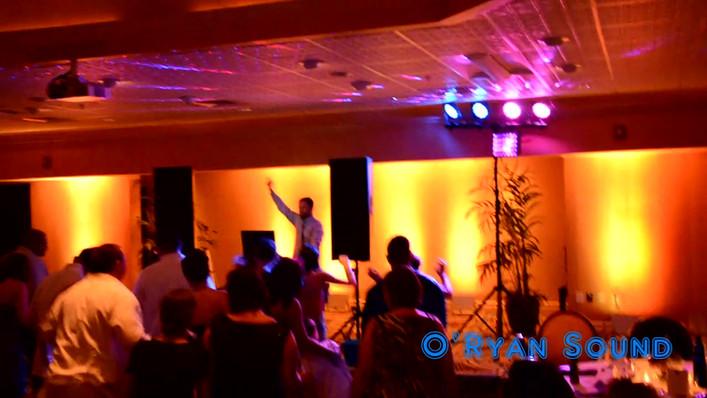 fort myers wedding DJ and up lighting