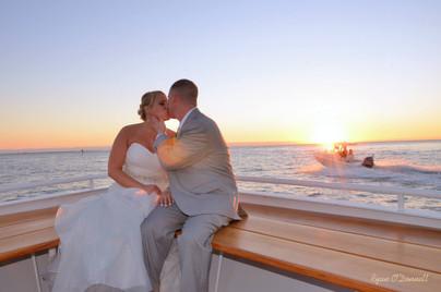 Sanibel Harbour princess yacht wedding