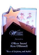 O'Ryan Sound NAWP Award.