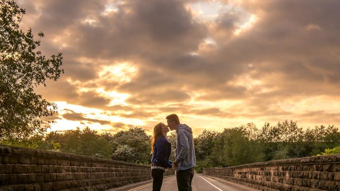 Hannah & John - Pre-wedding photography at Ulley Country Park, Rotherham