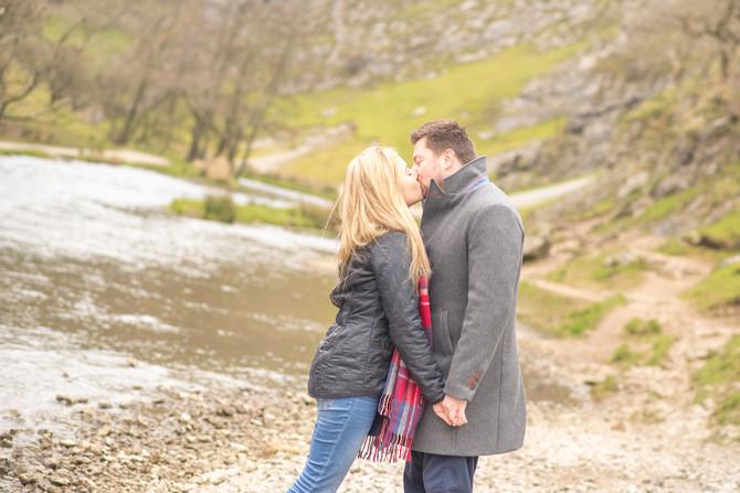 Katie & Darren - Pre-wedding photography at Dovedale, Peak District