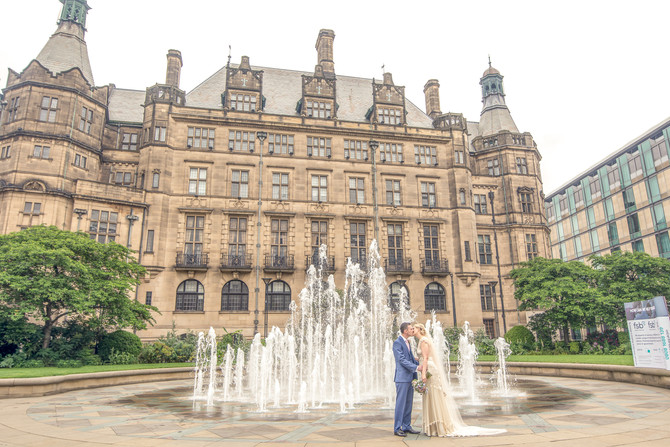 Helen & Declan - Wedding Photography at Sheffield Town Hall / Cricket Inn, Totley