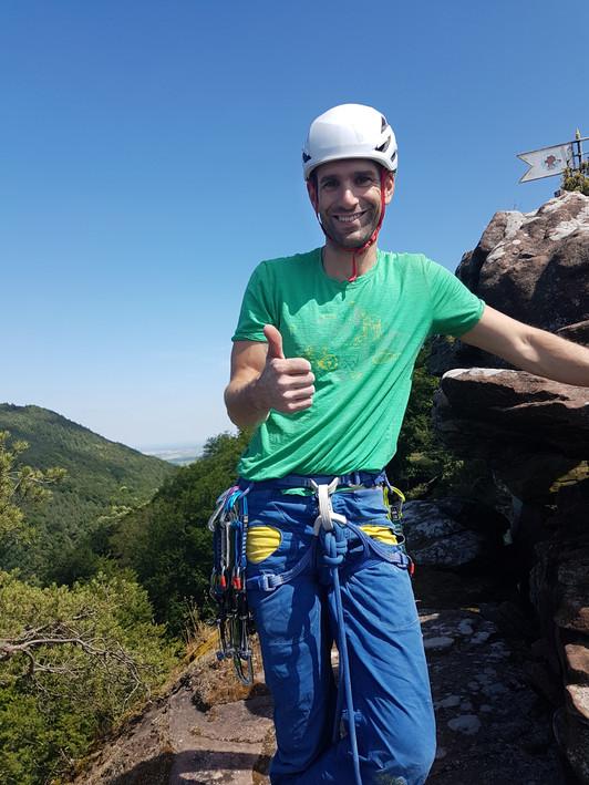 Klettern mit mobilen Sicherungen