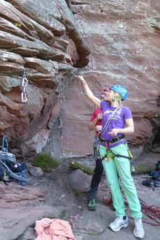 Kletterkurs Mobile Sicherungen