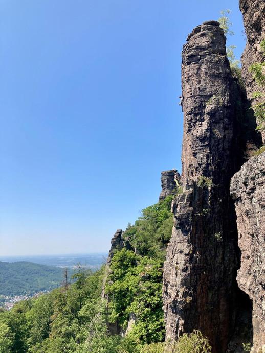 Alpinfeeling am Battertfelsen