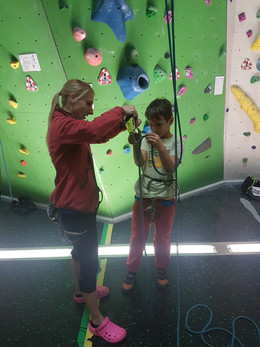 Familienklettern Eltern-Kind Kletterkurs
