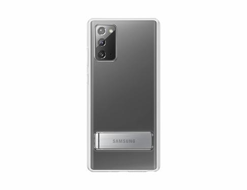 Galaxy Note20 için Ayaklı Şeffaf Kılıf