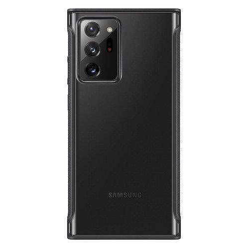 Galaxy Note20 Ultra için Şeffaf Koruyucu Kılıf - Siyah