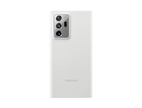 Galaxy Note20 Ultra için Silikon Kılıf - Beyaz