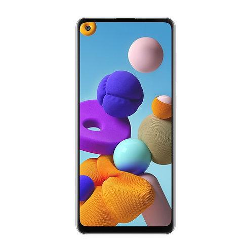 Samsung Galaxy A21s 64GB (Çift SIM) - Beyaz