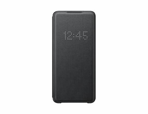 Galaxy S20 Ultra için LED View Kılıf - Siyah