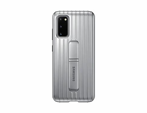 Galaxy S20 için Koruyucu Kılıf - Gümüş Gri