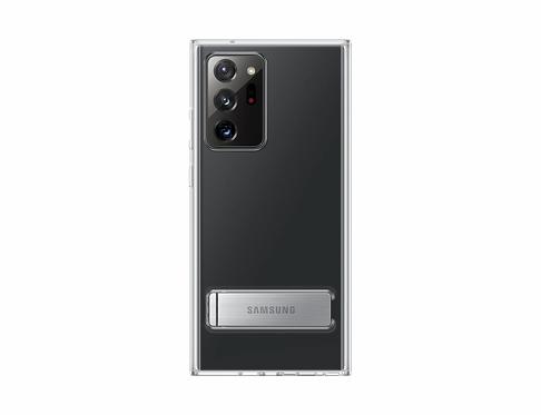 Galaxy Note20 Ultra için Ayaklı Şeffaf Kılıf