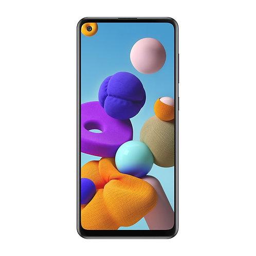 Samsung Galaxy A21s 64GB (Çift SIM) - Siyah