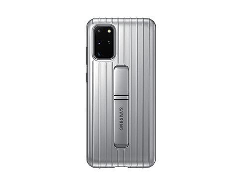 Galaxy S20 Plus için Koruyucu Kılıf - Gümüş Gri