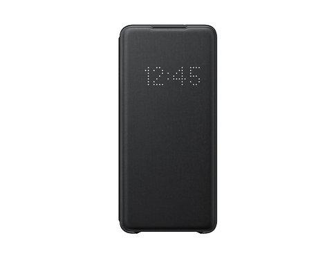 Galaxy S20 Plus için LED View Kılıf - Siyah