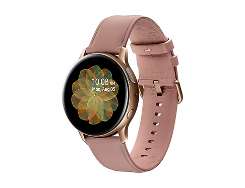 Samsung Galaxy Watch Active2 (40mm) - Paslanmaz Çelik - Altın