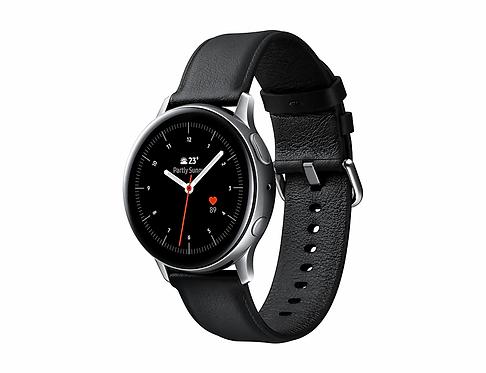 Samsung Galaxy Watch Active2 (40mm) - Paslanmaz Çelik - Gümüş