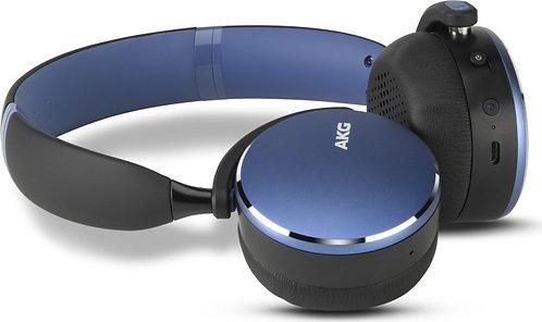 GP-Y500H AKG Y500 Kablosuz Kulaklık - Mavi