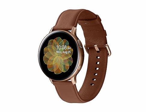 Samsung Galaxy Watch Active2 (44mm) - Paslanmaz Çelik - Altın