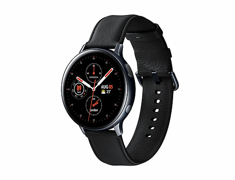 Samsung Galaxy Watch Active2 (44mm) - Paslanmaz Çelik - Siyah