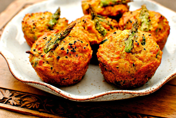 Mini muffins aux légumes