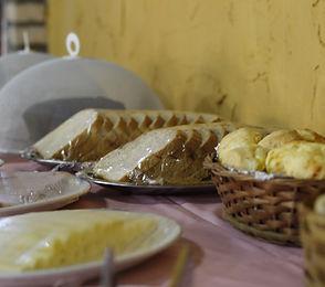 pão de queijo Hotel Fazenda Rio Formoso