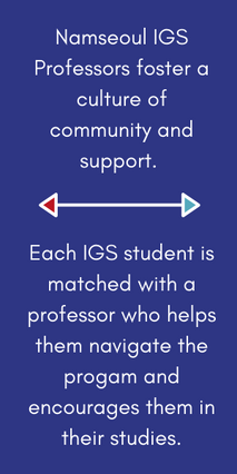 Namseoul IGS Professors foster a culture