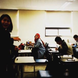 Delightful classmates