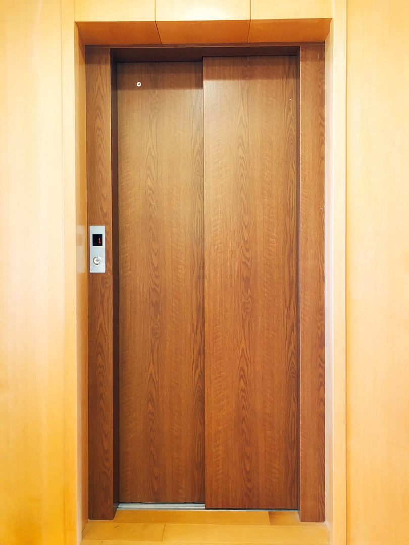 貼皮板材-電梯
