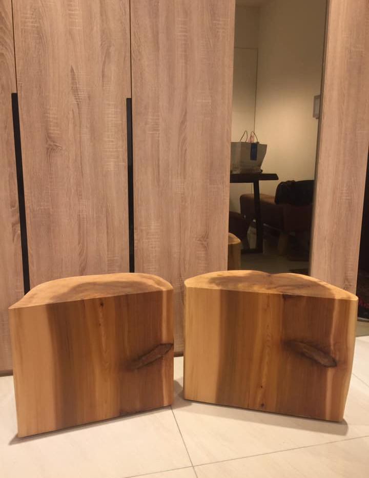 香杉玄關椅