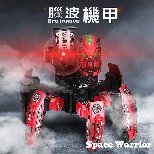 【腦波意念機甲-60Hz】含一台腦波儀 娛樂 玩具 模型 意念 操控 親子對戰 注意力訓練