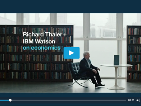 Richard Thaler + IBM Watson on Behavioral Economics