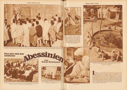 Schweizer Illustrierte Zeitung, Nr. 18, 1934, Das alte und das moderne Abessinien