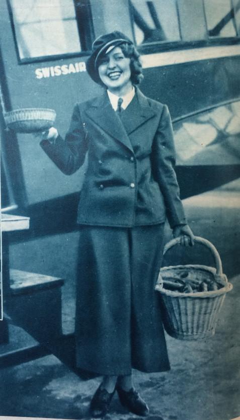Nelly Diener publiziert am 5. Mai 1934 in Sie & Er