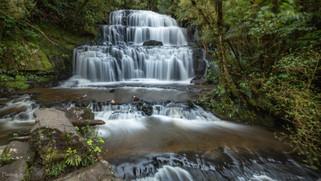 Purakaunui Falls, New Zealand
