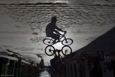 Riding silhouette