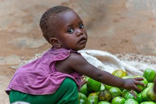 Rwandan baby